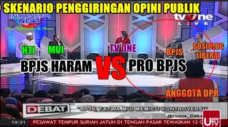 Debat Bpjs Tvone Ketidakadilan Waktu Bagi Narasumber Mui Dan Hti