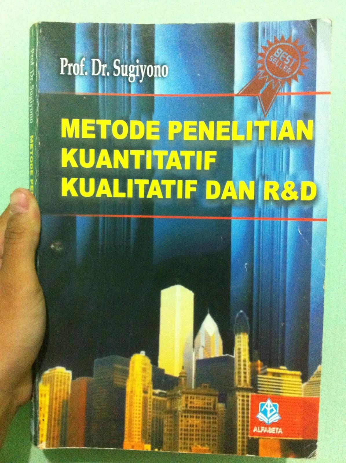 Resume Metode Penelitian Kuantitatif Kualitatif Dan R D Halaman