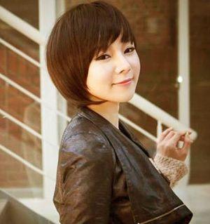 Trend Model Rambut Bob Ala Korea Banyak Diminati oleh Julia bela ... b8d5381adf