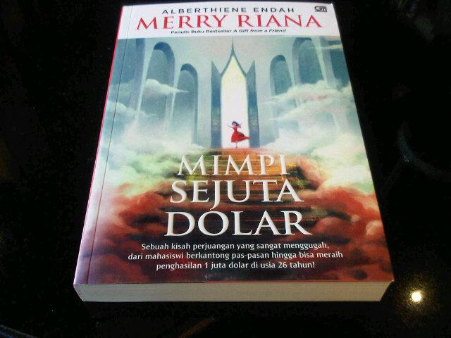 Resensi Novel Merry Riana Mimpi Seribu Dolar Karya Alberthiene