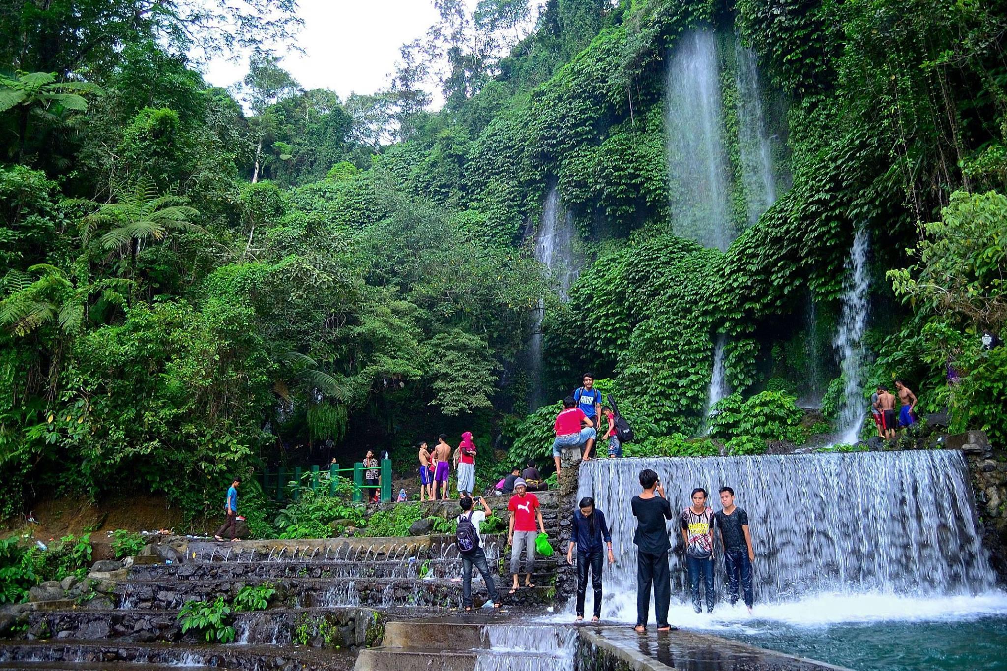 Gemercik Air Terjun Benang Kelambu, Lombok Halaman all