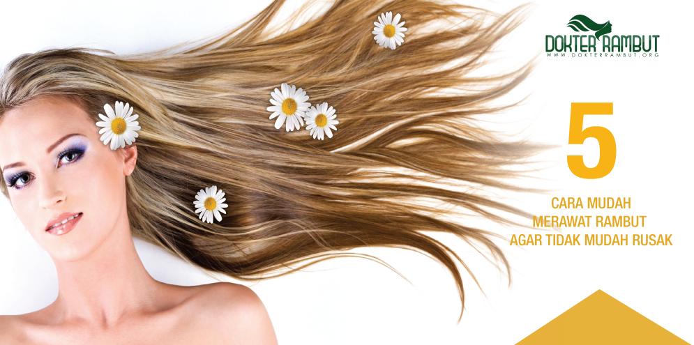 5 Cara Mudah Merawat Rambut Agar Tidak Mudah Rusak Kompasiana Com