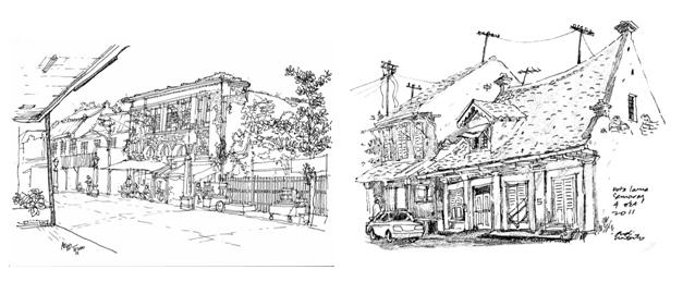 Kota Tua Semarang Illustrasi Dan Asimilasi Budaya Oleh Christie