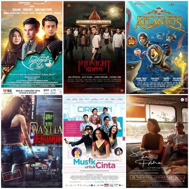 Daftar Film Indonesia Siap Tayang Bulan Januari 2016 Oleh Yos Mo