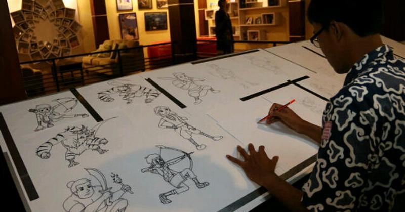 Download 76  Gambar Animasi Indonesia Keren  Gratis
