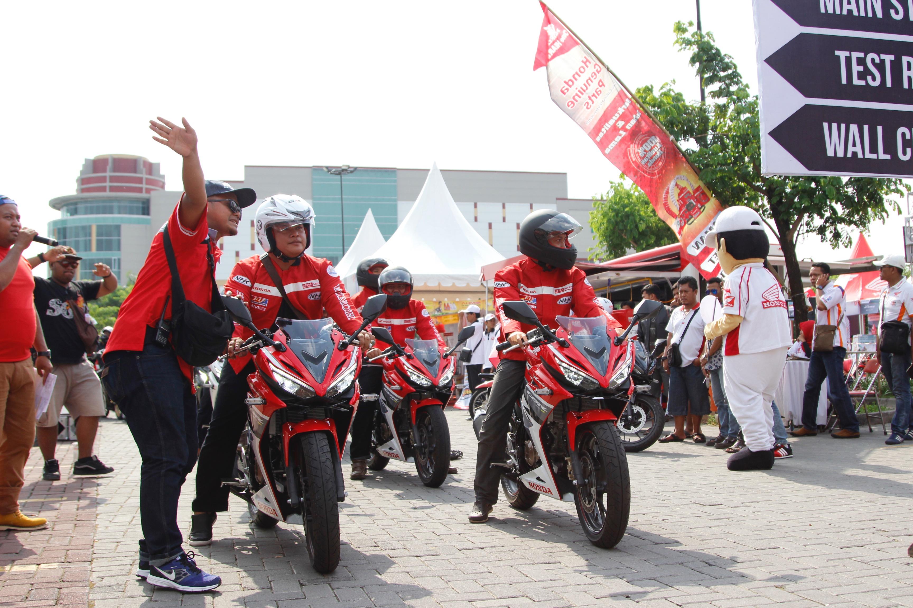 Press Release Launching All New Honda Cbr150r Meriahkan Warga Solo Cbr 150r Racing Red Kota Semarang Oleh Muhammad Rizal Fuady