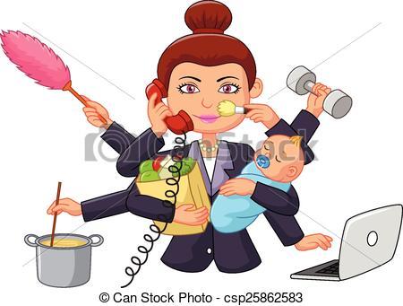 Hasil gambar untuk wanita multitasking