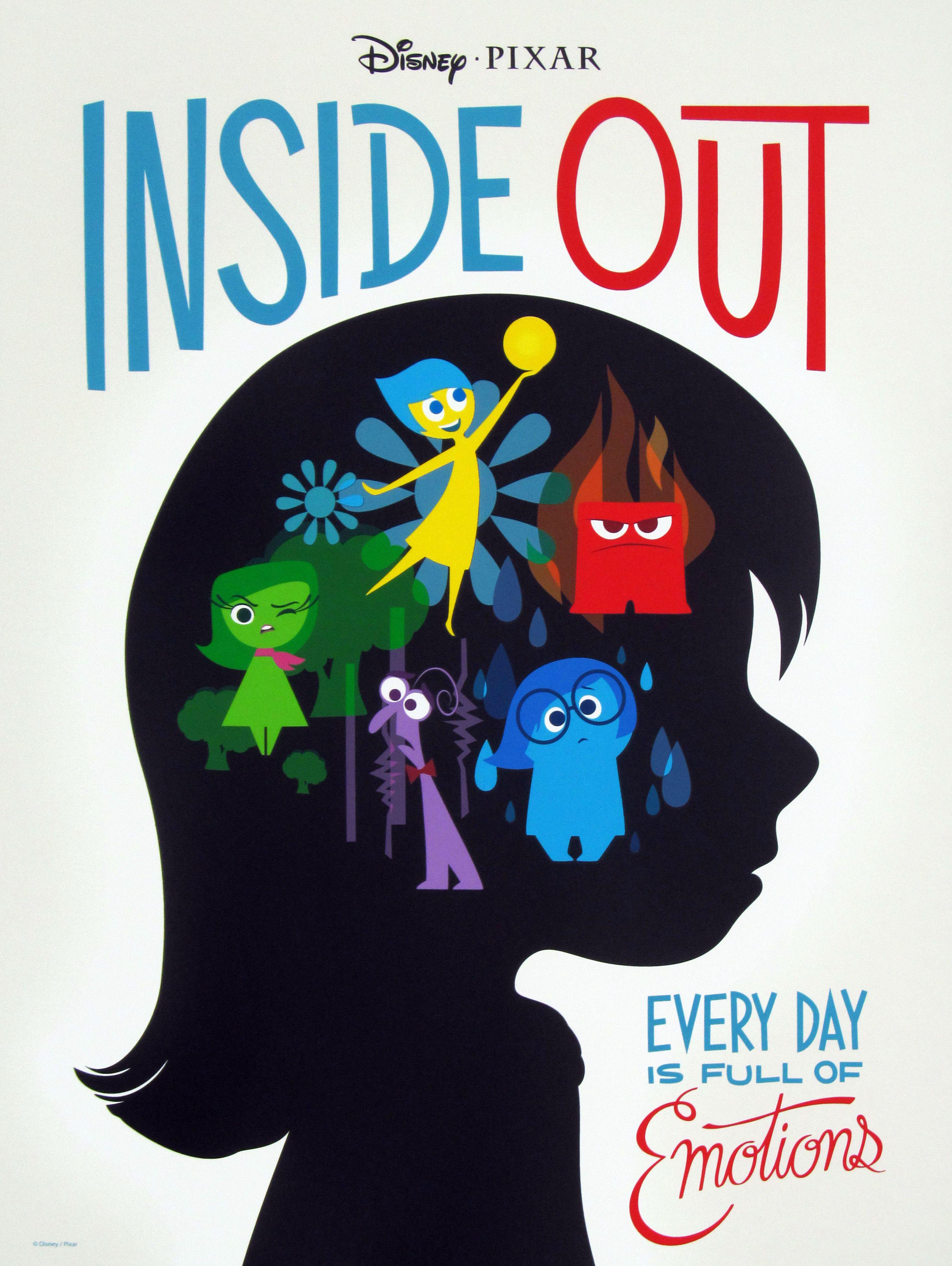 Representasi Makna Verbal Dan Visual Poster Film Inside Out