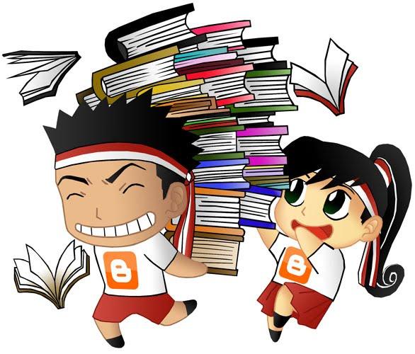 Gambar Siswa Yang Sedang Membaca Buku Guru Ilmu Sosial