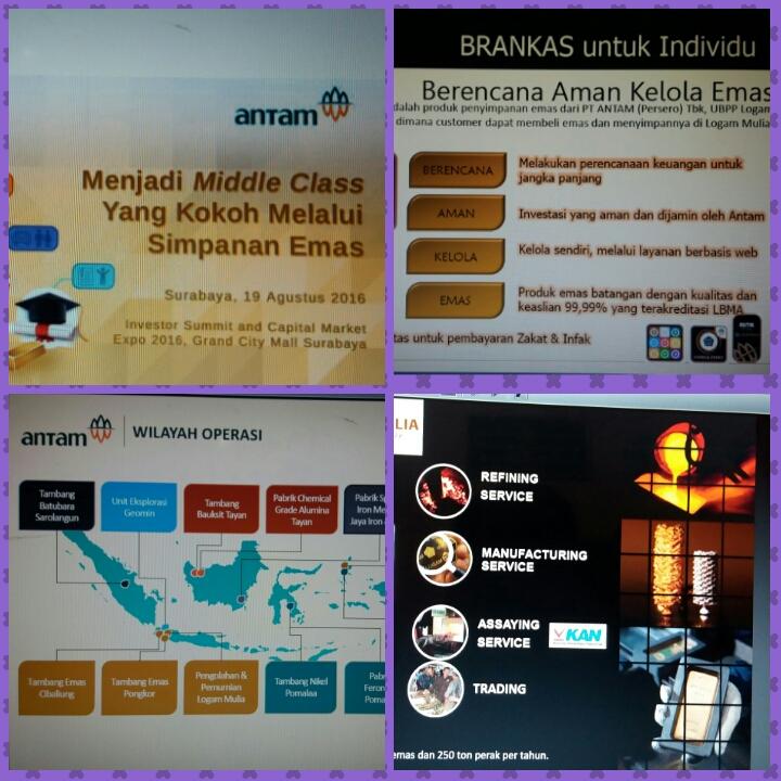 Mau Investasi Emas Kenali Pt Antam Lebih Dekat Oleh Siti Nur