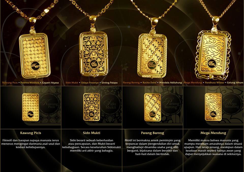 gramasi emas antam batik series I