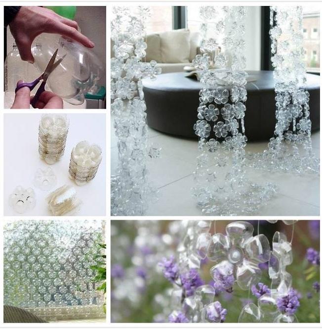 Asiknya Membuat Kerajinan Tangan dari Botol Plastik Bekas Air Mineral f66dc6ac73