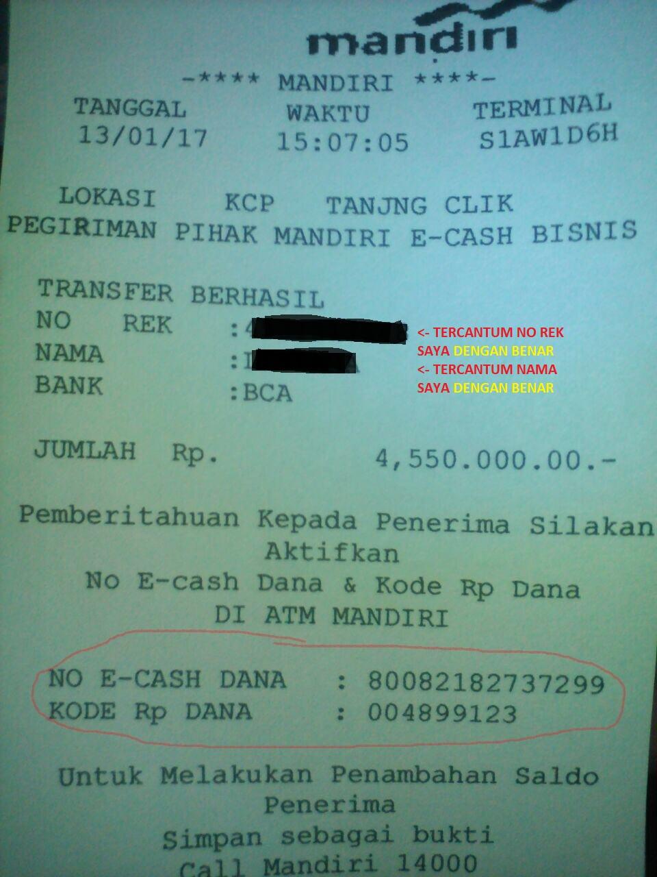 Kronologis Lengkap Penipuan Mandiri E Cash Oleh Monica Gunawanjap Money Saldo Rp 0 Halaman All