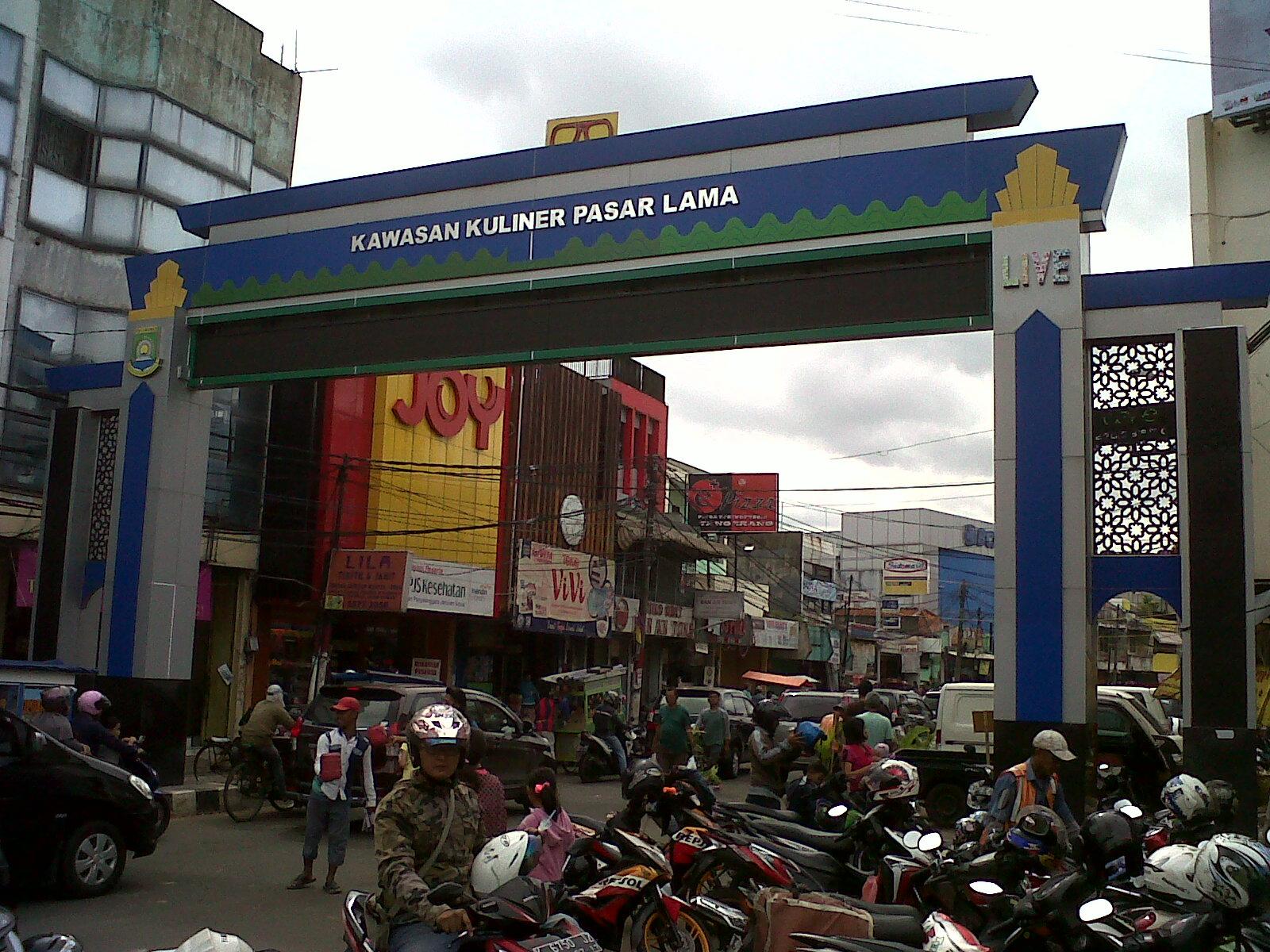 Image result for pasar lama Tangerang