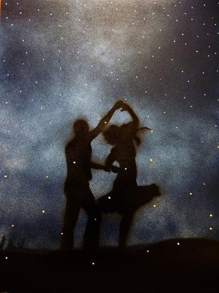 Картинки любви и страсти под звездным небом