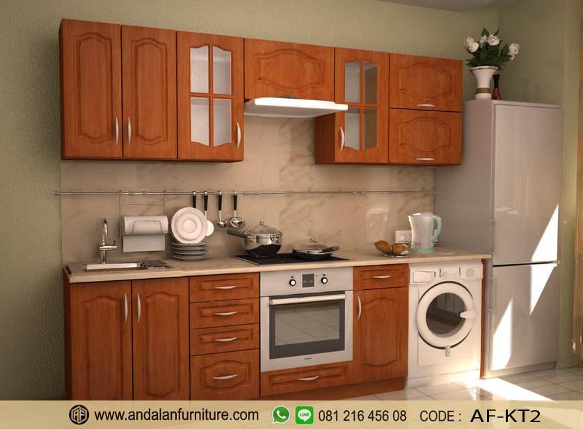 Model Gambar Kitchen Set Lemari Dapur Minimalis Oleh Faisal Ahmad
