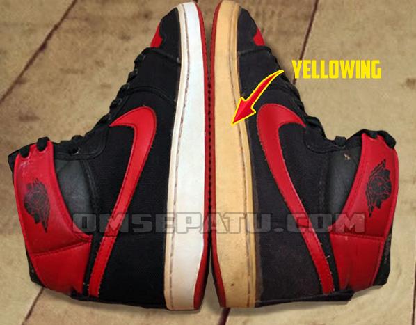 Menghilangkan Warna Kuning Pada Midsole Sepatu Oleh Kang Daris