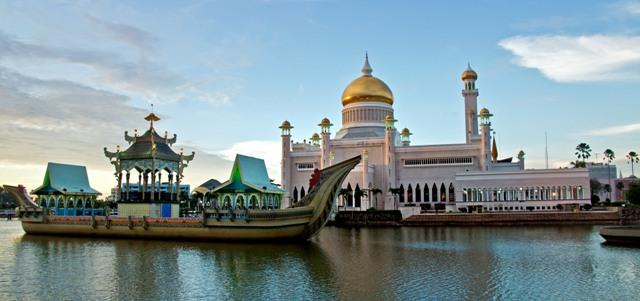 Hasil gambar untuk foto kota brunei darussalam