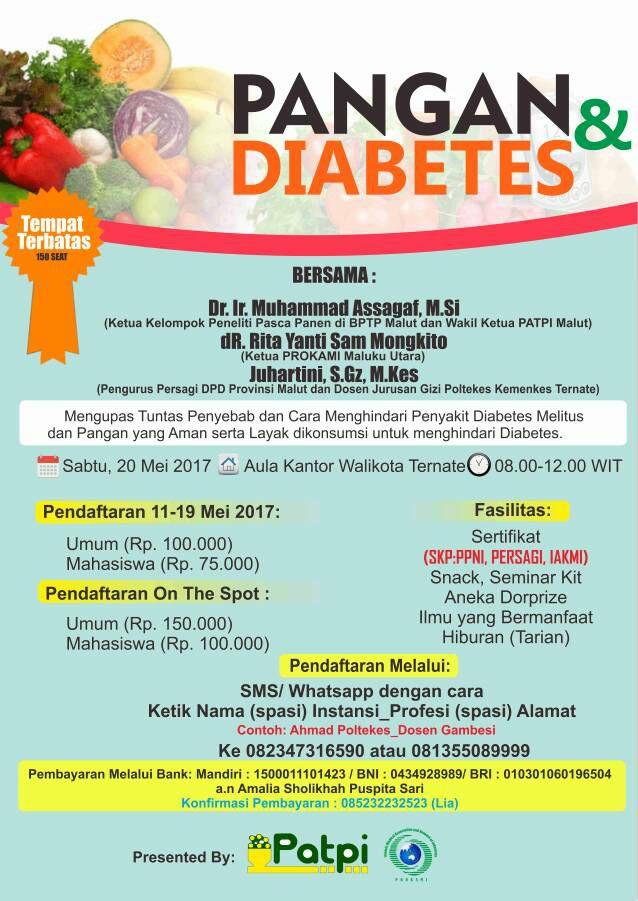 melawan penyakit diabetes tipe