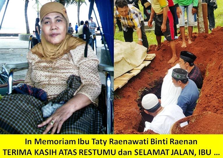 Tak Ada Air Mata Terakhir Untuk Ibu In Memoriam Ibu Taty