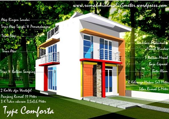 68 Gambar Rumah Lantai 2 Samping Terbaru