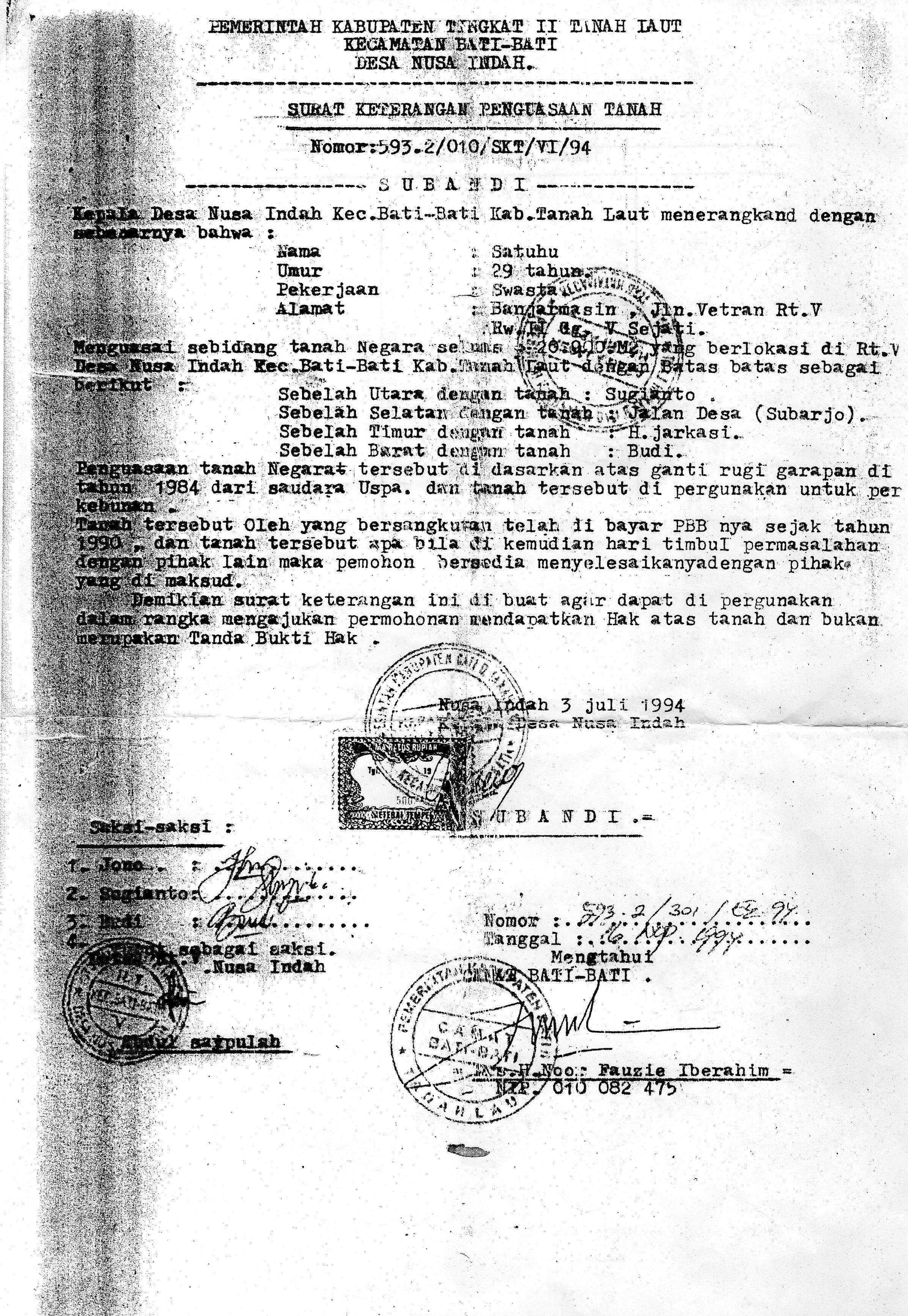 Kompolnas Sertifikat Hak Milik Prona Vs Skpt Halaman All