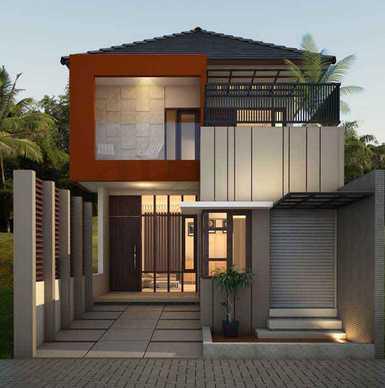 Desain Rumah Minimalis 2 Lantai Terbaru Paling Tren 2017 Oleh Endang