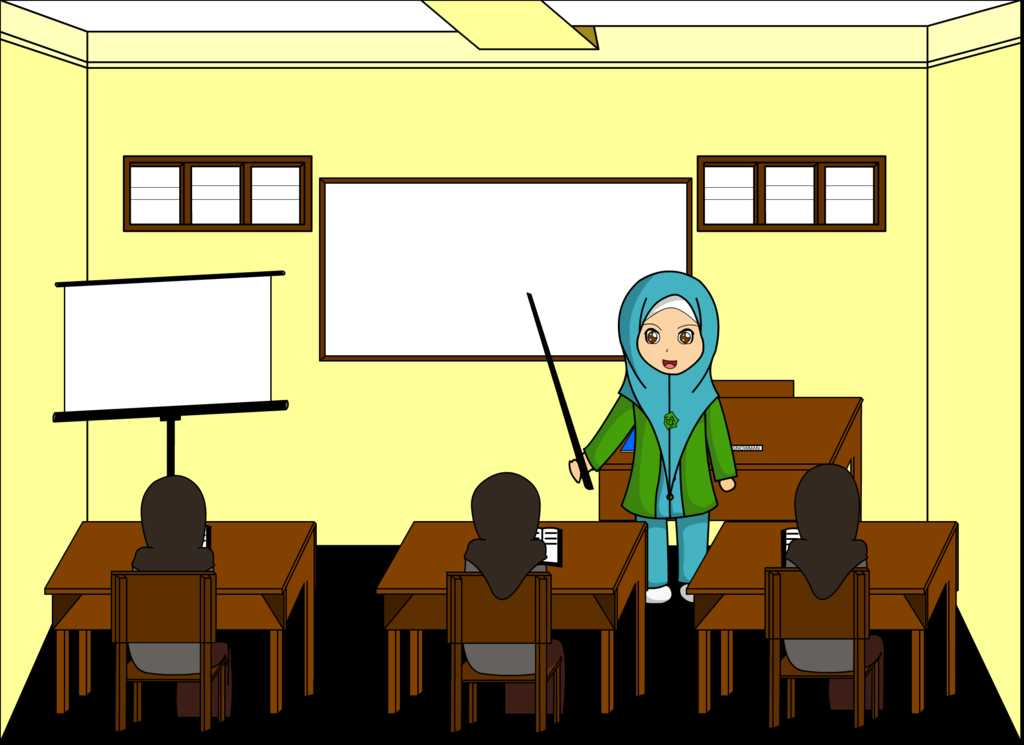 83 Gambar Animasi Guru Paling Keren
