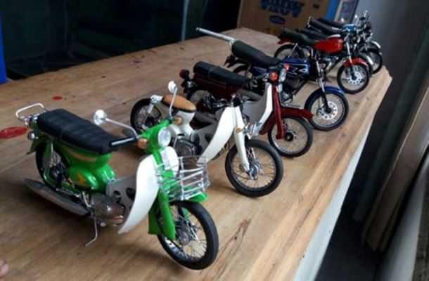 Mengubah Barang Bekas Menjadi Sepeda Motor Lawas Halaman 1