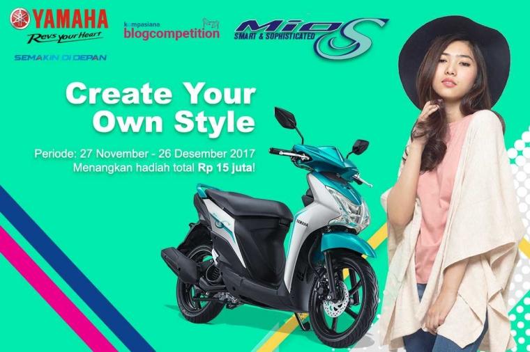 [HARI TERAKHIR] Tentukan Gayamu dalam Berkendara bersama Yamaha Mio S dan Isyana Sarasvati!