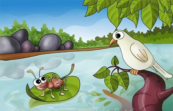 Dongeng Burung Merpati Dan Semut Oleh Agung Budi Santoso