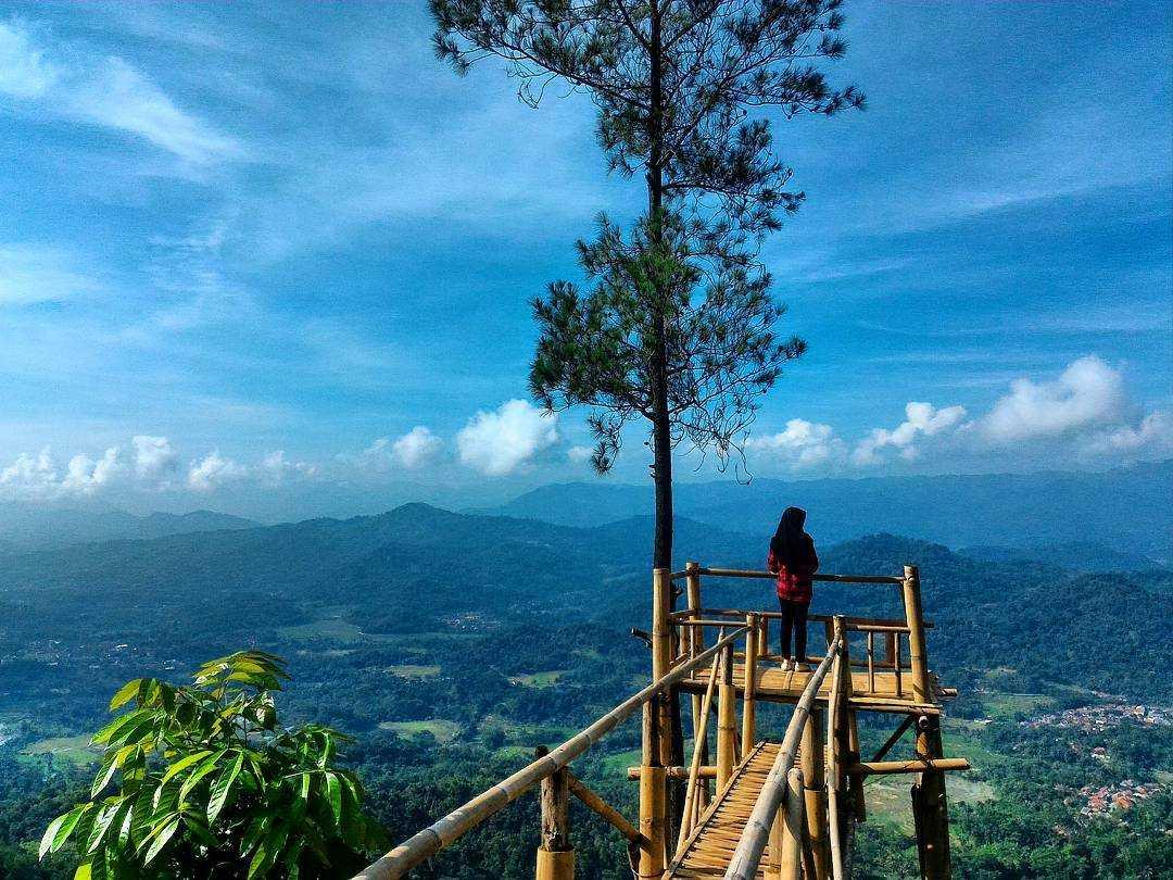 """Wisata Bukit Panembongan Keasriannya """"Instagram-genic"""" Halaman all"""