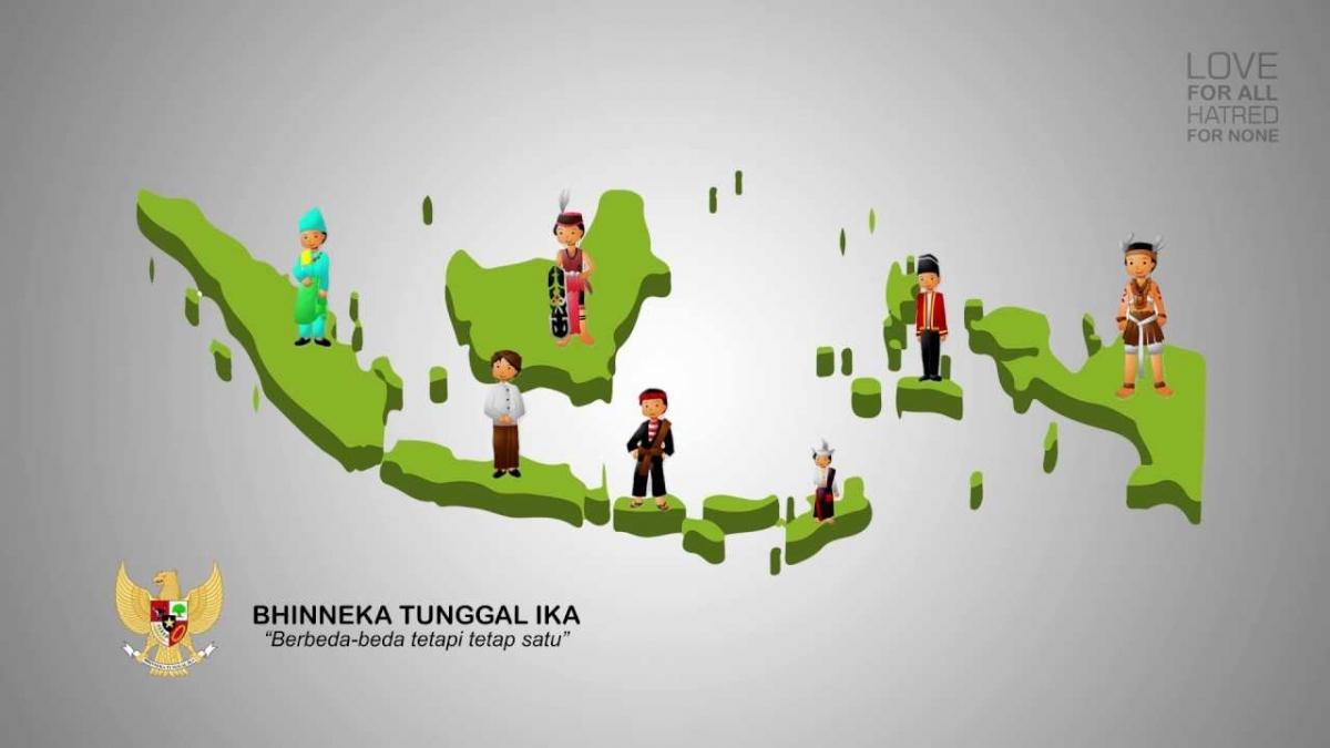 "Apakah Keadaan di Indonesia Sesuai dengan Moto ""Bhineka ..."