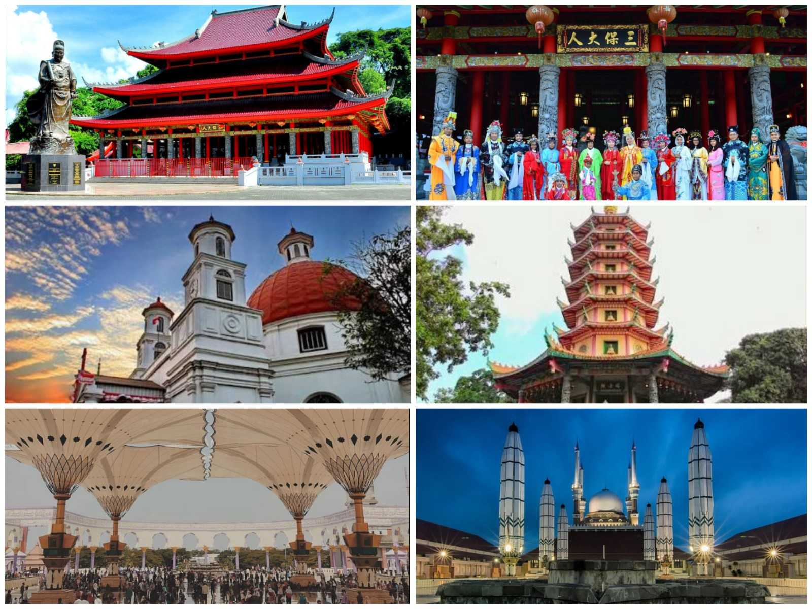 Tempat Wisata Religi Ikonik Di Semarang Halaman All Kompasiana Com