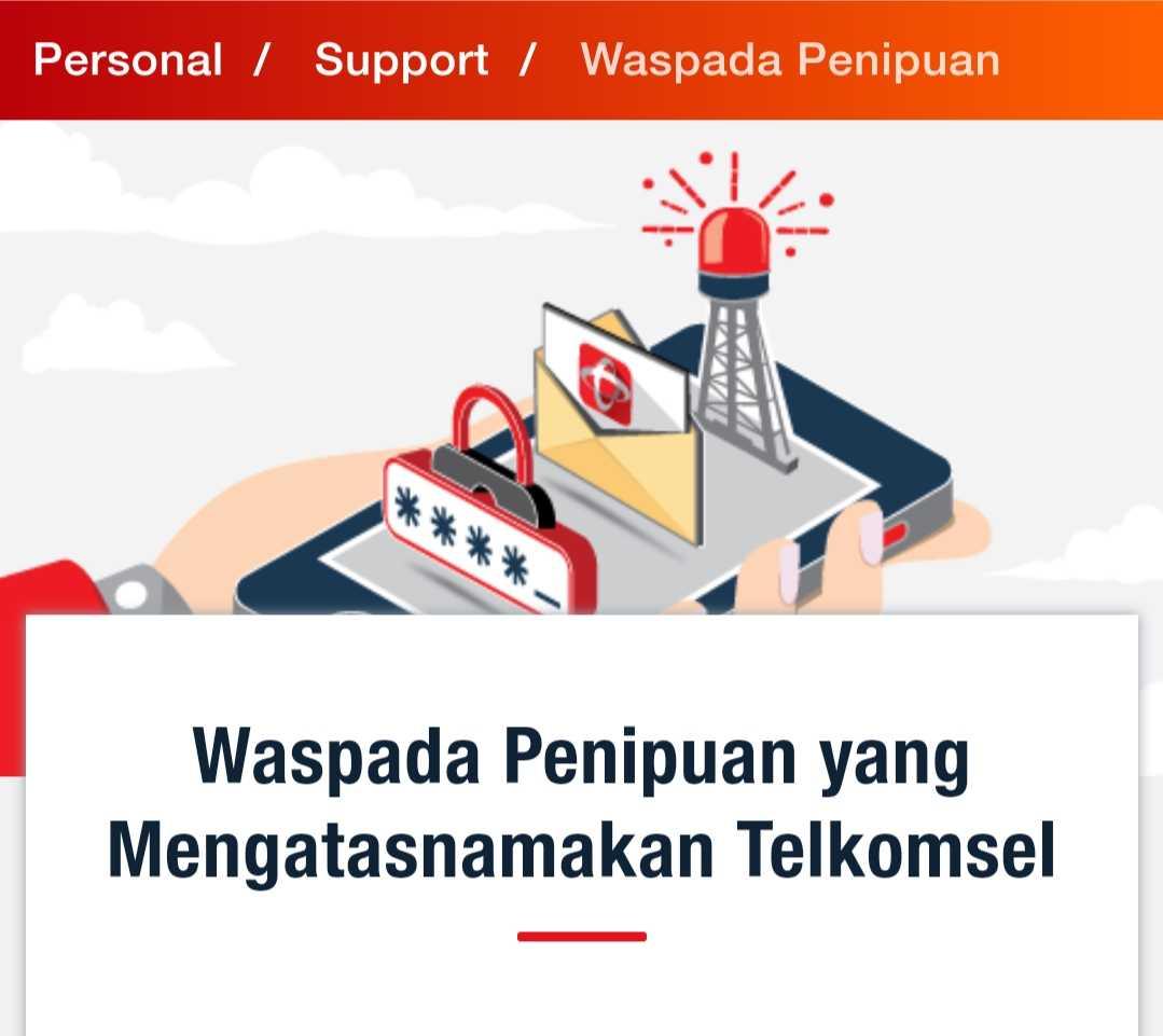 Waspada Penipuan Oleh Operator Telkomsel Gadungan Halaman 1