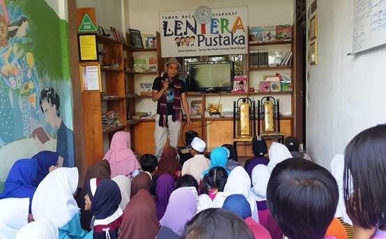 Tips Jitu Mendirikan Taman Bacaan Versi TBM Lentera Pustaka Halaman All -  Kompasiana.com