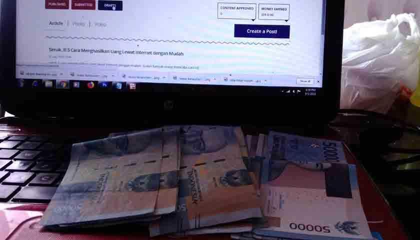Mencari Uang Di Internet Dengan Menjadi Penulis Tips Berbagi Pengalaman Halaman All Kompasiana Com