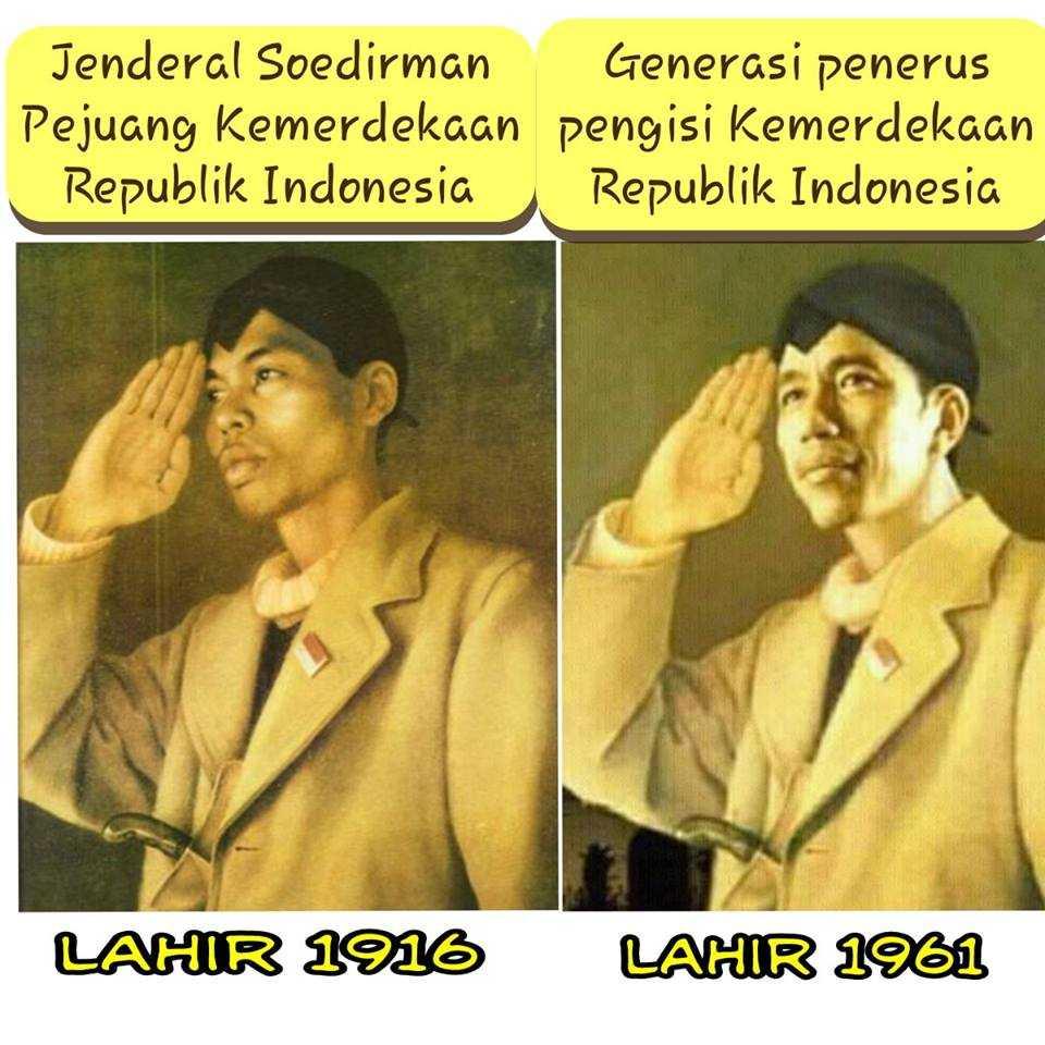 Satu Kalimat Bijak Jenderal Soedirman Ada Pada Diri Jokowi Oleh