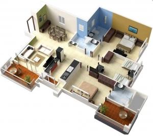 Hitungan Biaya Membangun Rumah 3 Kamar Tidur Lantai 1 Halaman All Kompasiana Com