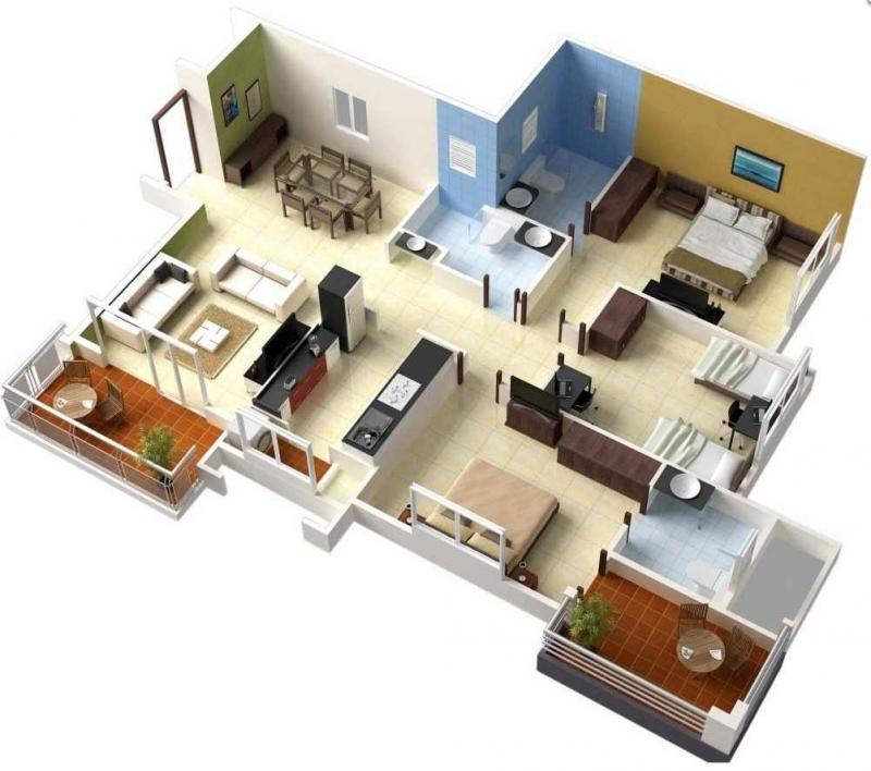 Hitungan Biaya Membangun Rumah 3 Kamar Tidur Lantai 1 Halaman 1 Kompasiana Com