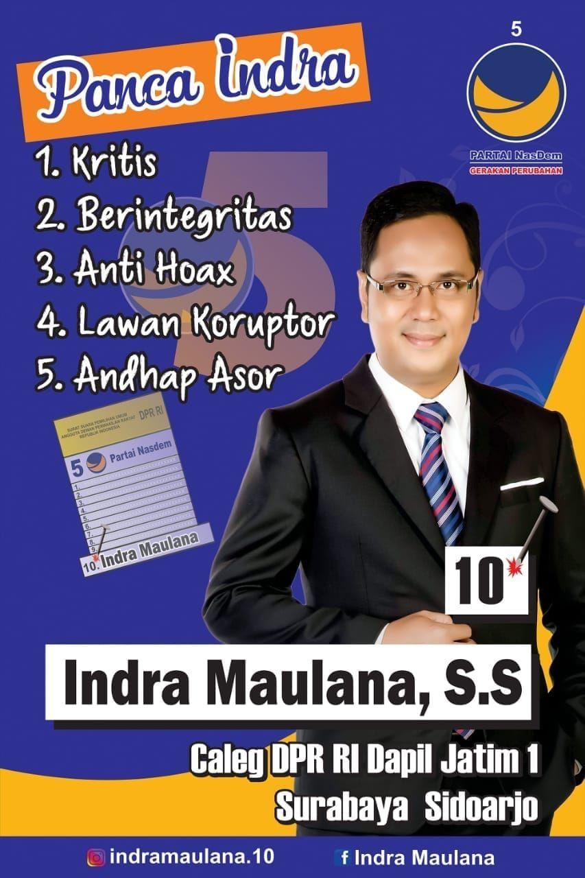 Maju Caleg Dpr Ri Berikut Profil Eks Presenter Metro Tv Indra Maulana Oleh Moch Atho Illaah Kompasiana Com