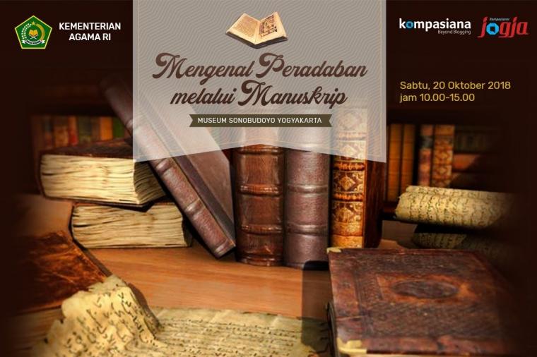 Yuk Mengenal Peradaban Indonesia melalui Manuskrip bersama Kemenag!