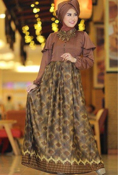 Inspirasi Model Batik Pesta Dress Panjang Yang Buat Penampilanmu