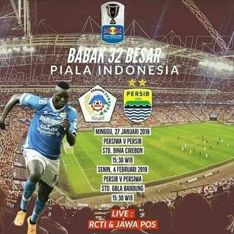 Babak  Besar Akan Mempertemukan Persiwa Wamena Vs Persib Bandung Di Stadion Bima Kota Cirebon
