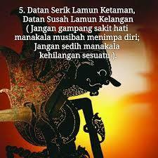 Ajaran Moral Orang Jawa Kompasianacom