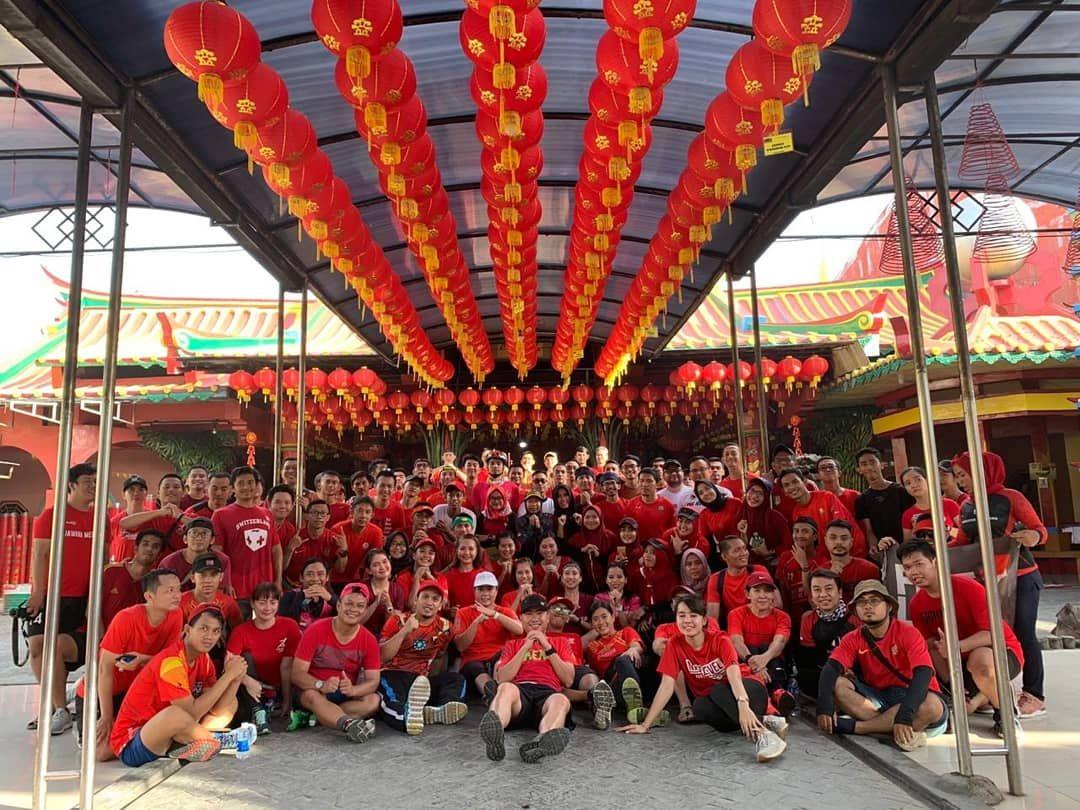 Sambut Imlek 2570, Sejumlah Komunitas Lari Ikuti Acara Imlek Run 2019