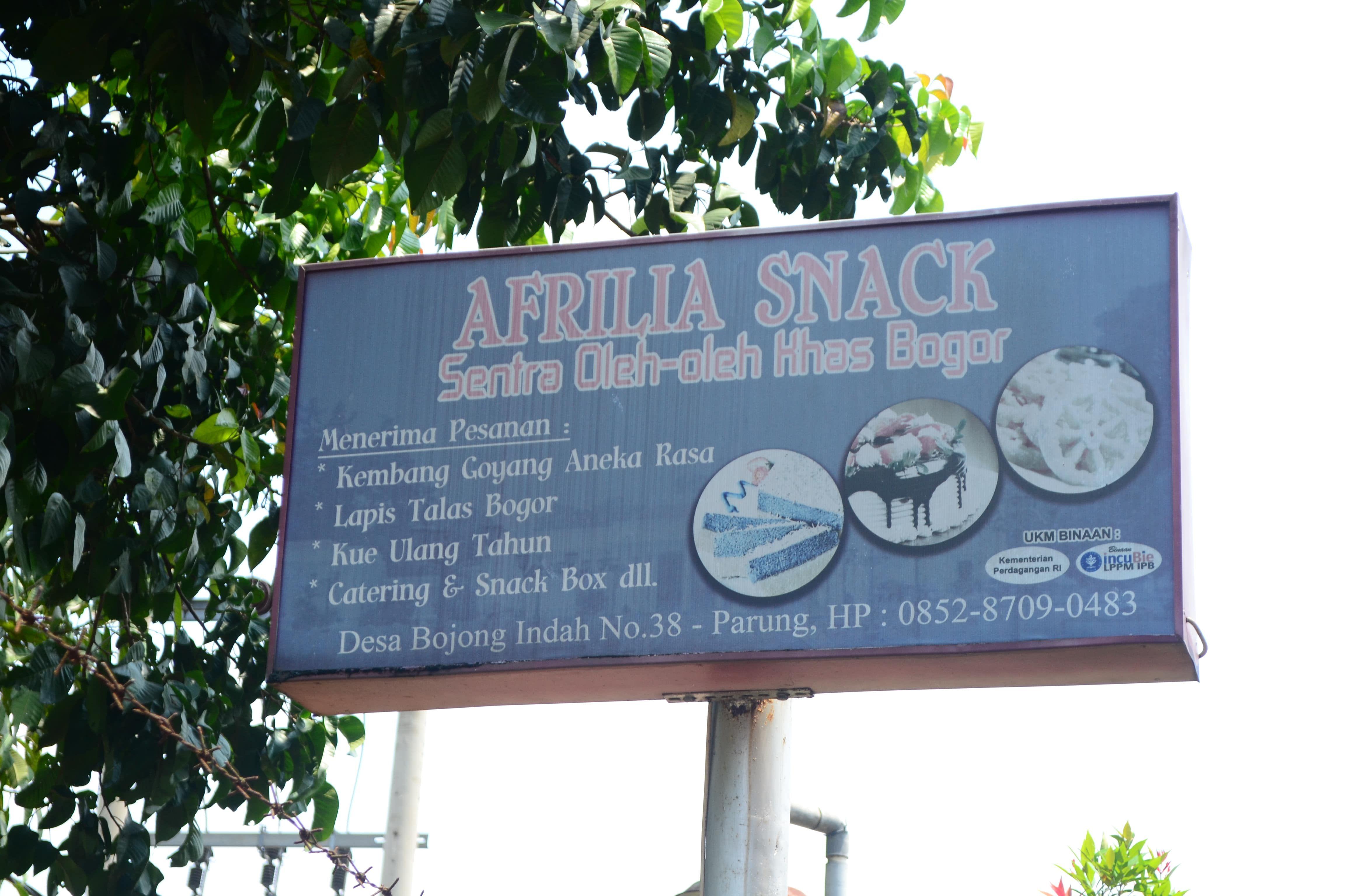 Afrilia Snack Umkm Asal Parung Si Traveller Asia Halaman 1