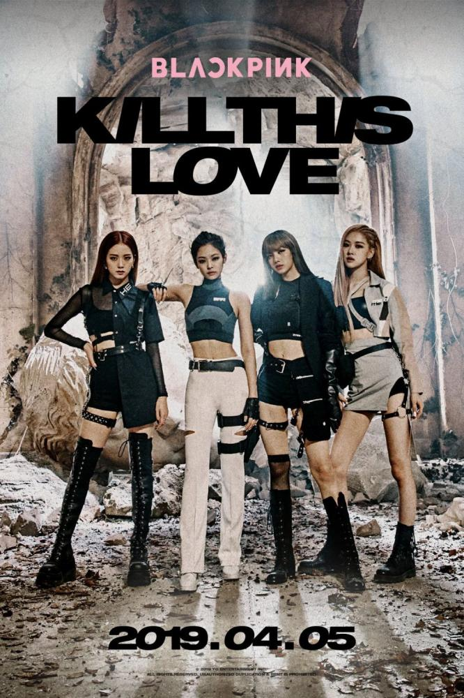 Blackpink In Your Area Dengan Kill This Love Oleh Postyrandom