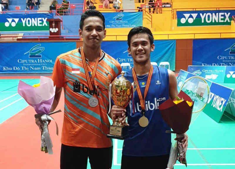 Pemain Lapis Kedua Indonesia Raih Tiga Gelar di Ciputra Hanoi-Yonex Sunrise Vietnam International Challenge 2019
