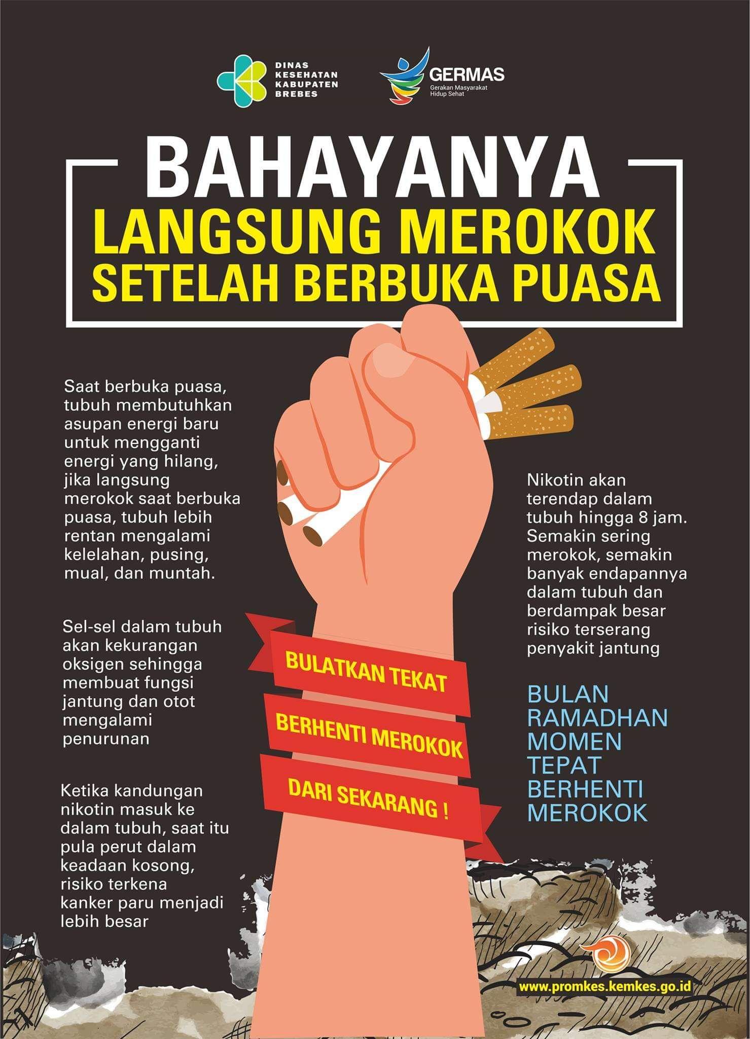 Poster Iklan Layanan Masyarakat Rokok Ide Poster